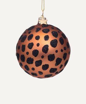 Leopard Spots Bauble Decoration