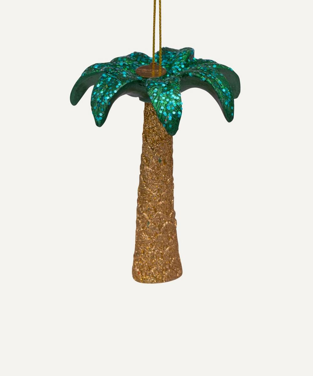Unspecified - Glitter Palm Decoration