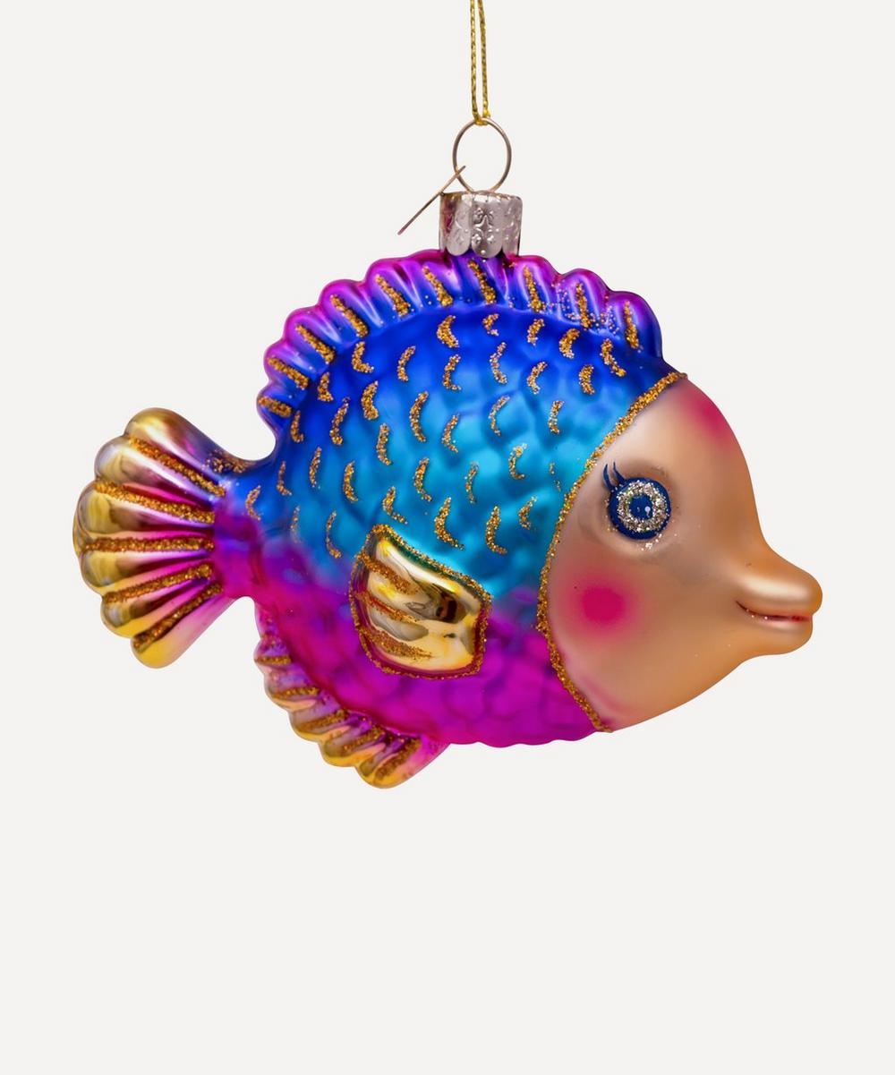 Unspecified - Glass Fish Ornament