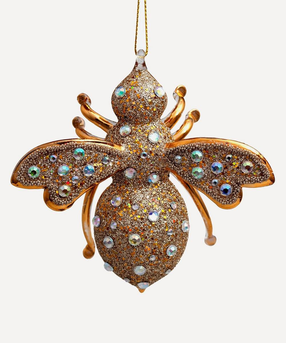 Unspecified - Glass Bee Ornament