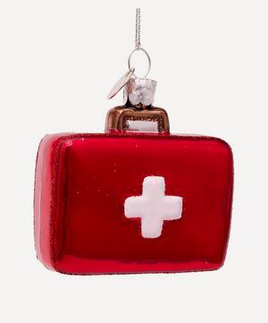 Glass Doctor's Bag Ornament