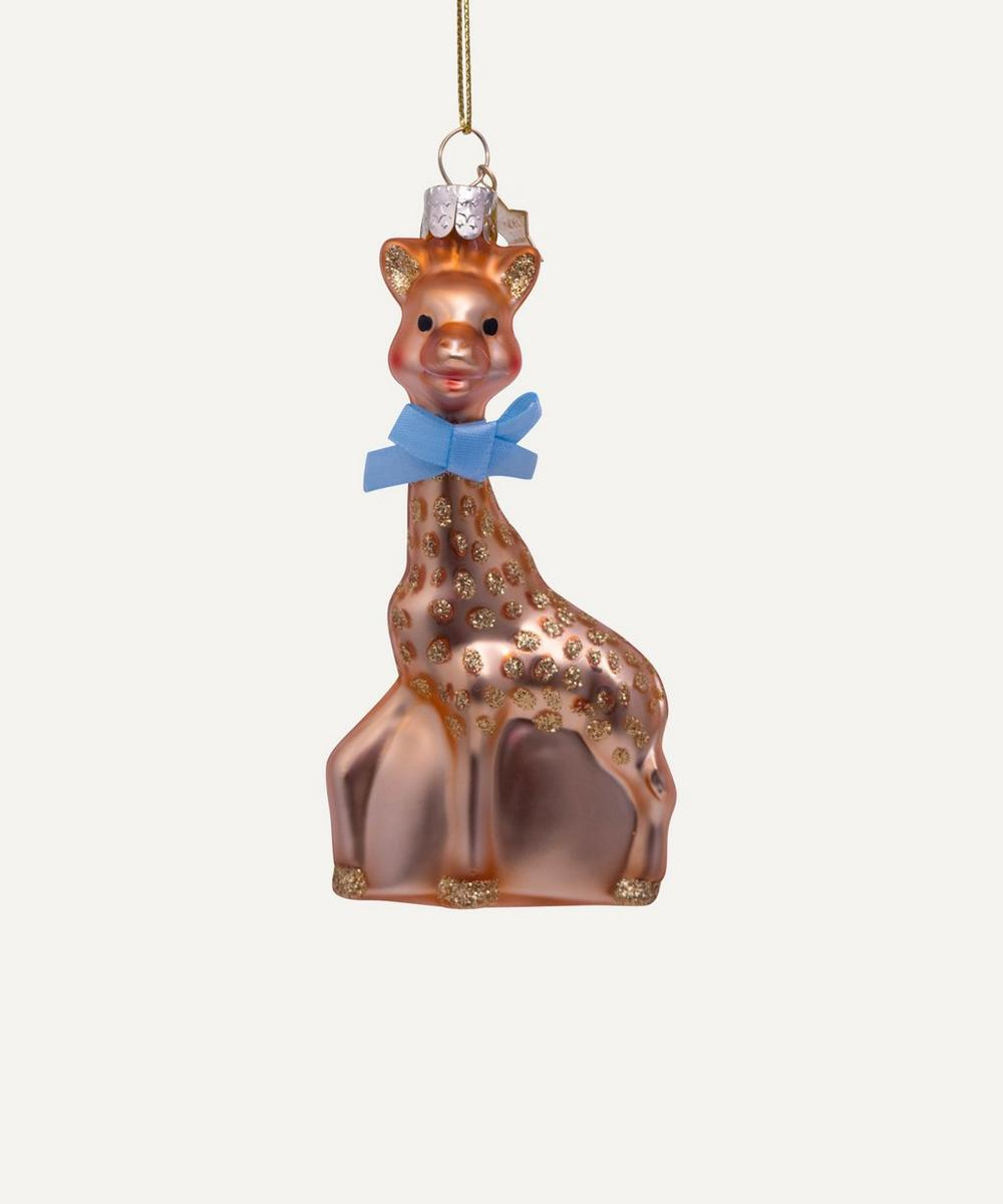 Unspecified - Sophie la Girafe Glass Tree Decoration