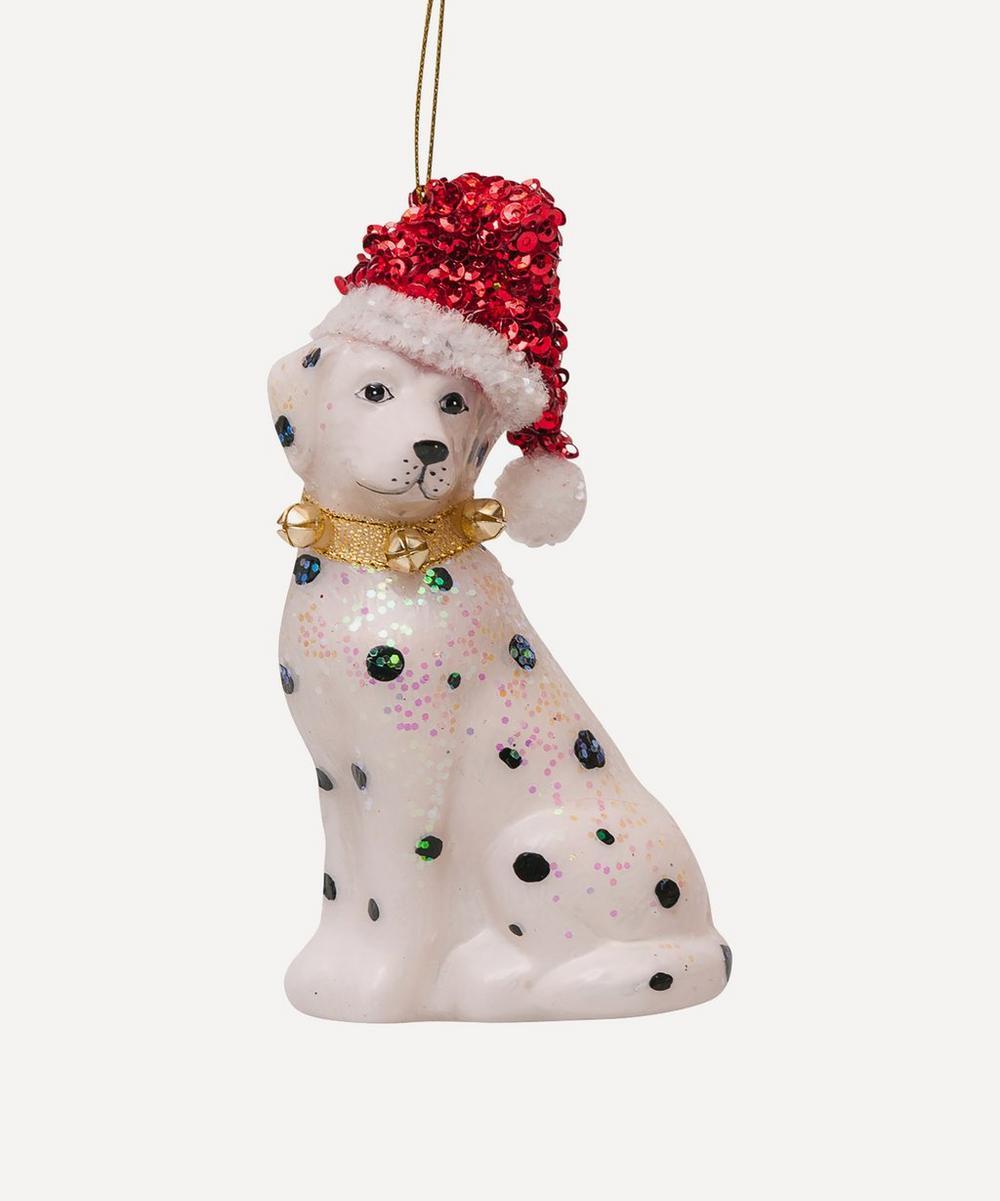 Unspecified - Glass Dalmatian Ornament