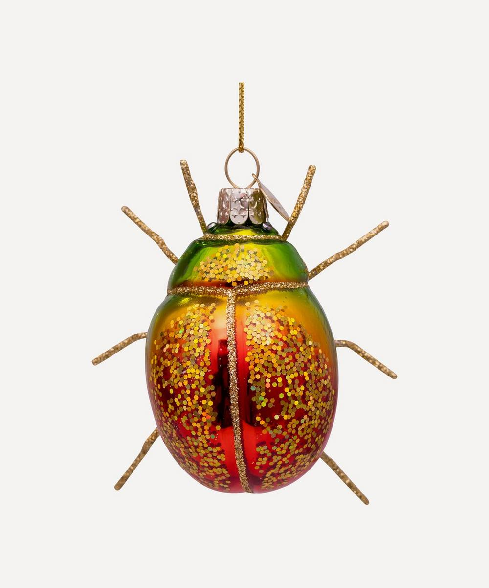 Unspecified - Glass Scarab Ornament