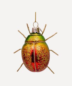 Glass Scarab Ornament
