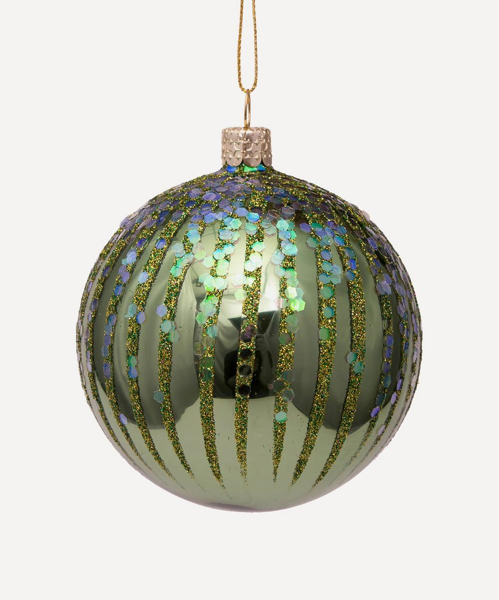 Unspecified - Glass Shiny Fireworks Bauble
