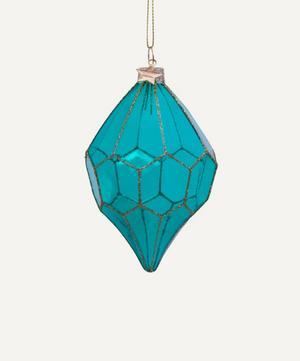 Geometric Transparent Bauble