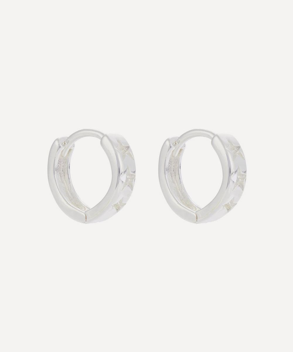 Estella Bartlett - Cut-Out Stars Mini Hoop Earrings
