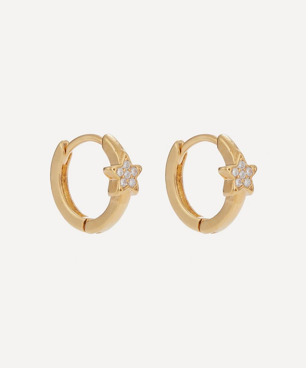 Estella Bartlett - Star Mini Hoop Earrings