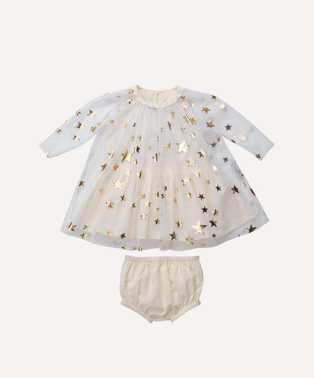 Stella McCartney - Gold Stars Tulle Dress 0-3 Years