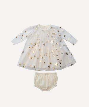 Gold Stars Tulle Dress 0-3 Years