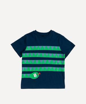 Snake Print Short-Sleeved T-Shirt 0-3 Years