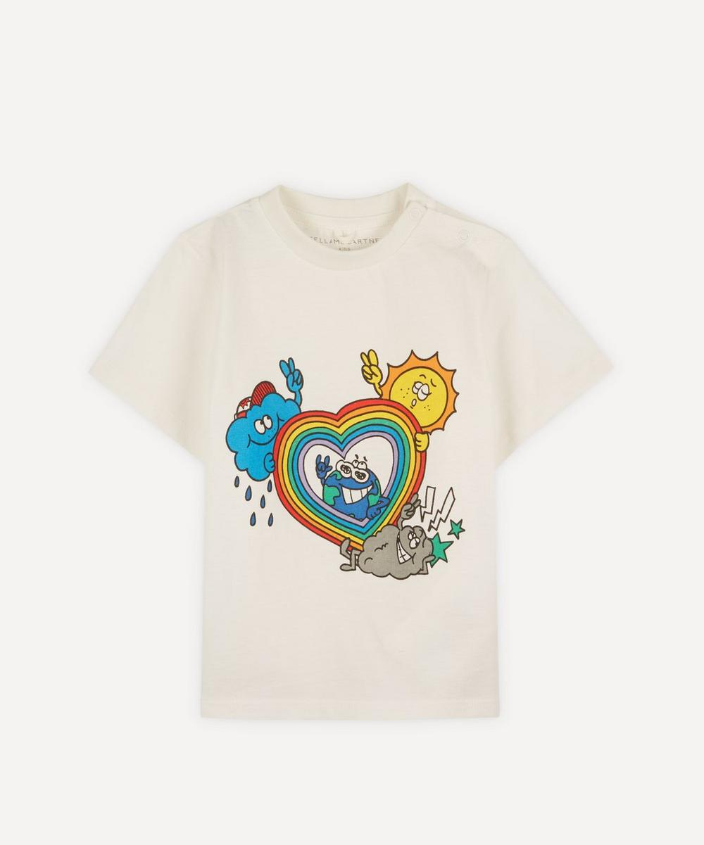 Stella McCartney Kids - Rainbow Heart T-Shirt