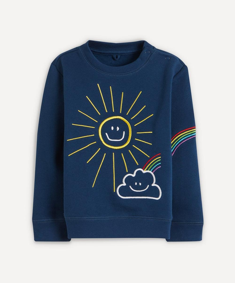 Stella McCartney Kids - Weather Embroidered Sweatshirt 0-24 Months