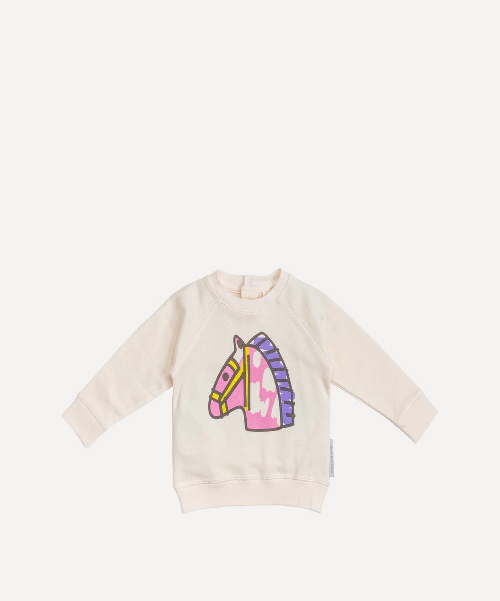 Stella McCartney Kids - Horse Print Sweater 3 Months-3 Years