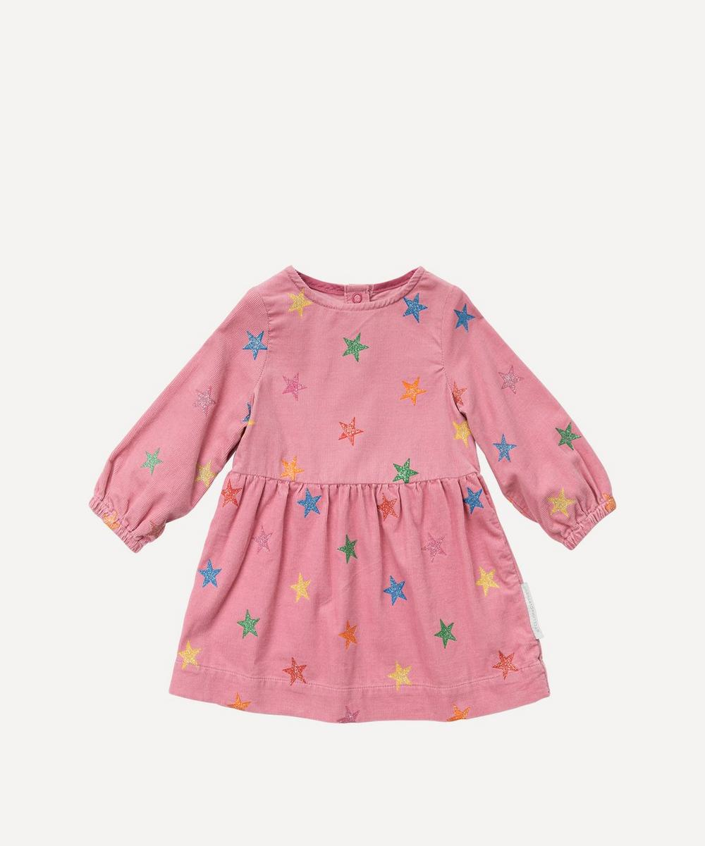 Stella McCartney Kids - Glitter Stars Corduroy Dress 3 Months-3 Years