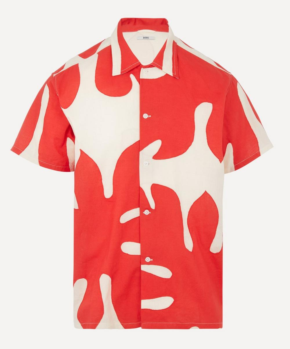 Bode - Printed Cotton Shirt