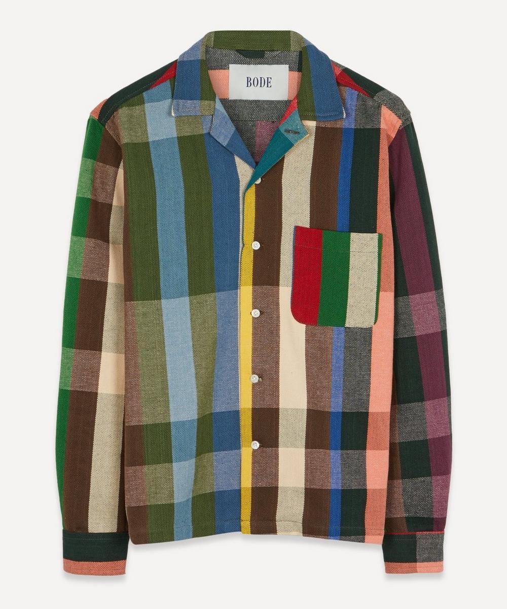 Bode - Workshop Plaid Cotton Shirt