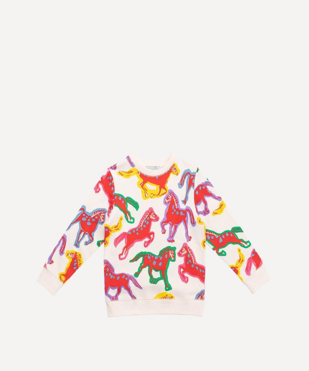 Stella McCartney Kids - Painted Horses Sweater 2-8 Years