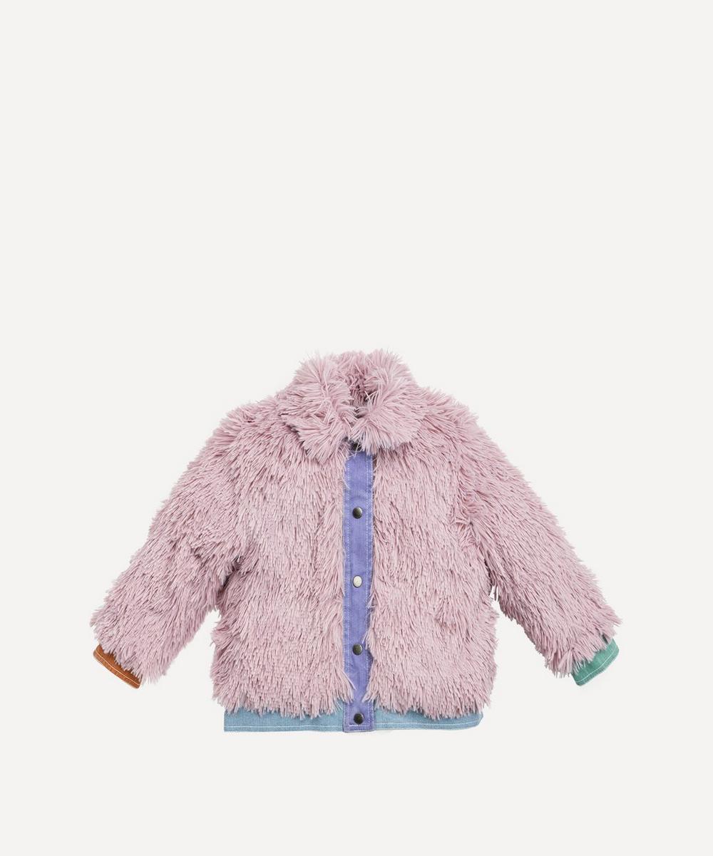 Stella McCartney Kids - Fake Fur Jacket 4-8 Years