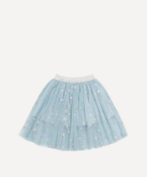 Silver Stars Tulle Skirt 2-8 Years