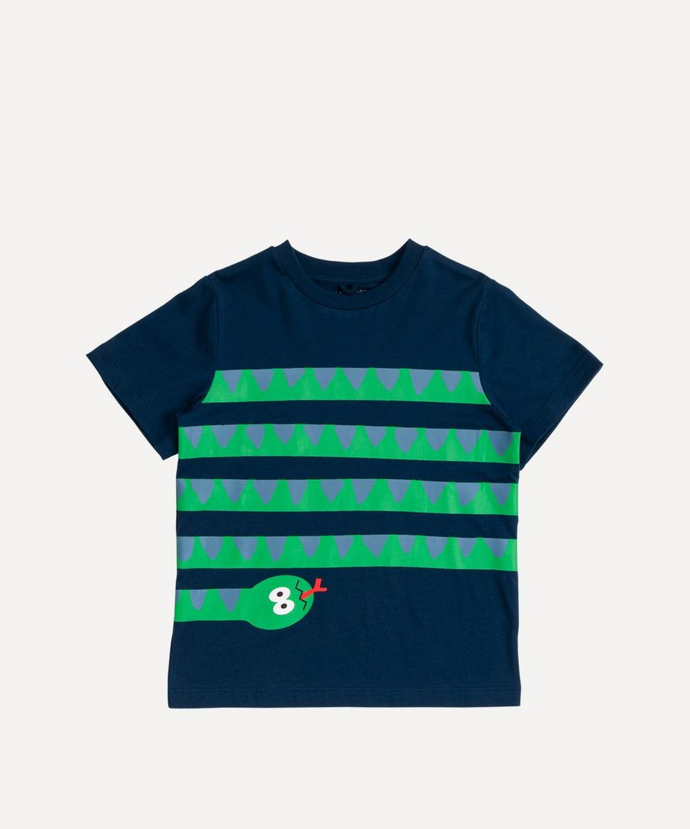 Stella McCartney Kids - Short-Sleeved Snake Print T-Shirt 2-8 Years