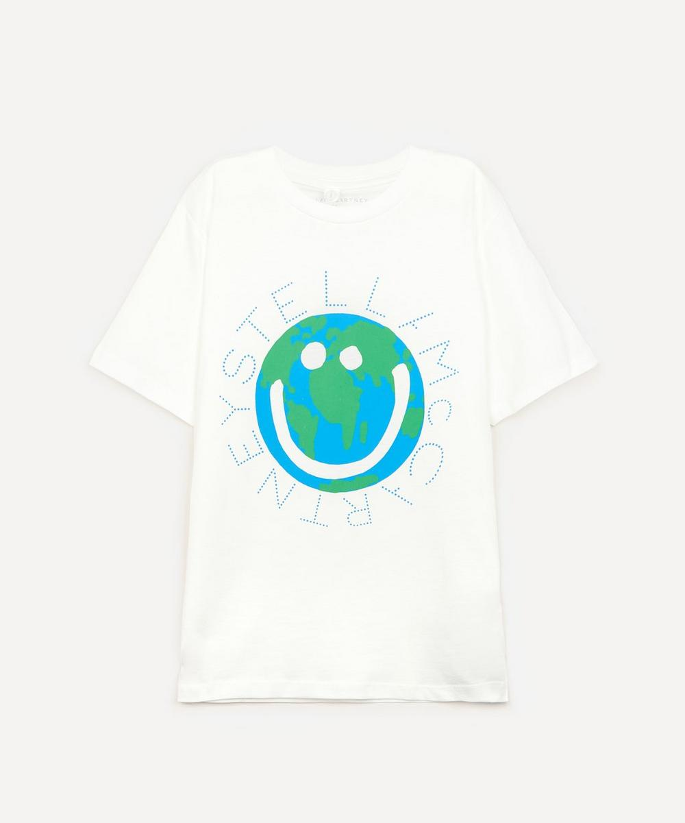 Stella McCartney Kids - World Logo-Print Short Sleeve T-shirt 2-8 Years