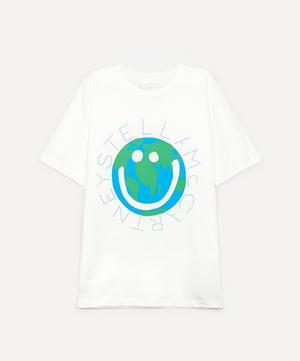 World Logo-Print Short Sleeve T-shirt 2-8 Years