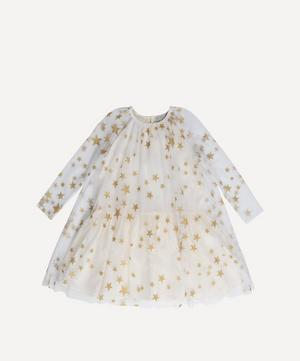 Gold Stars Tulle Dress 2-8 Years