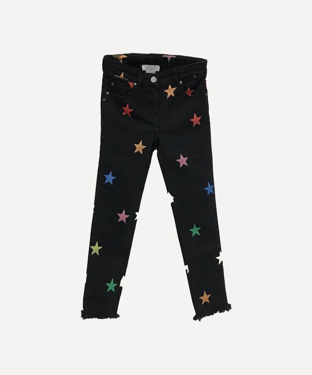 Stella McCartney Kids - Glitter Stars Denim Trousers 2-8 Years
