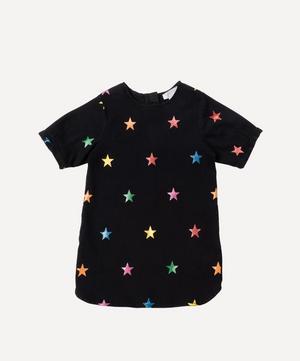 Glitter Stars Denim Dress 2-8 Years