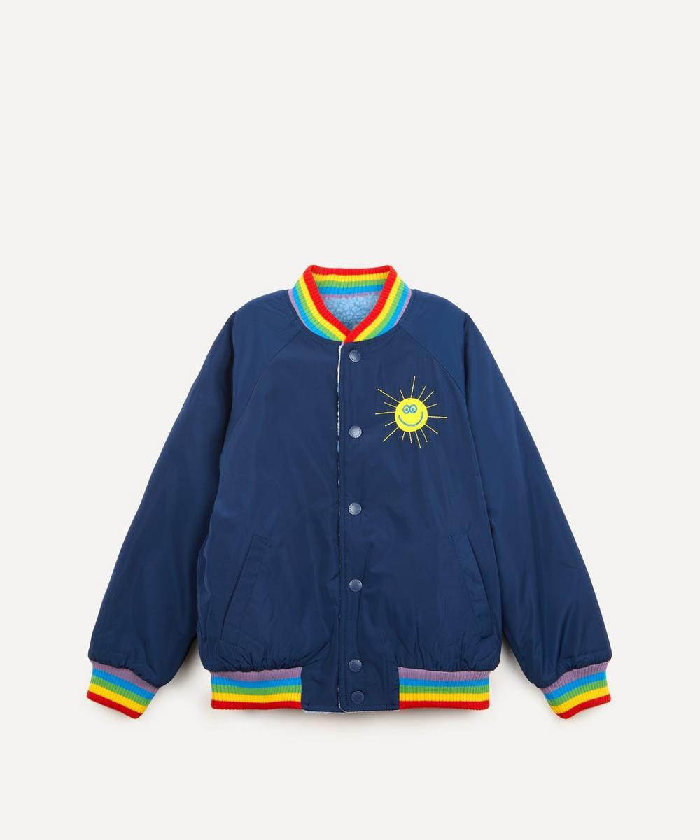 Stella McCartney Kids - Reversible Cloud Fleece Bomber Jacket 2-8 Years