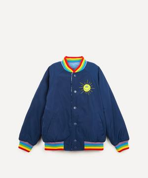 Reversible Cloud Fleece Bomber Jacket 2-8 Years