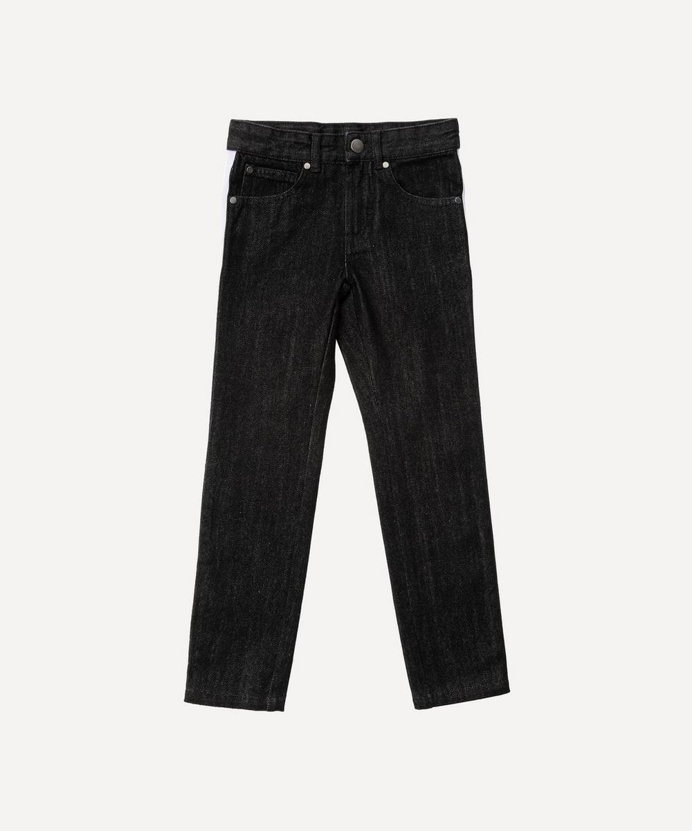 Stella McCartney Kids - Denim Bicolour Trousers 2-8 Years