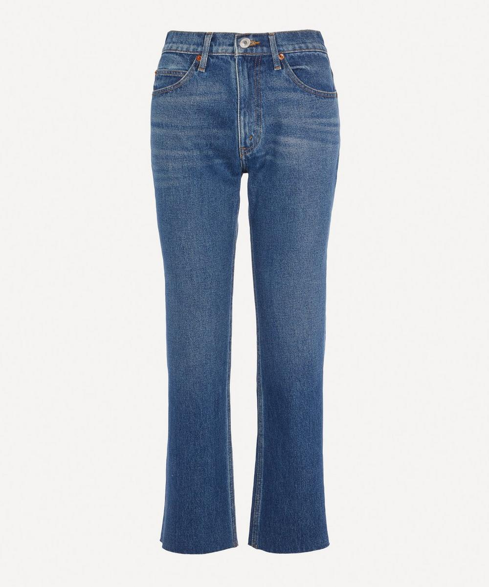 RE/DONE - 70s Crop Bootcut Jeans
