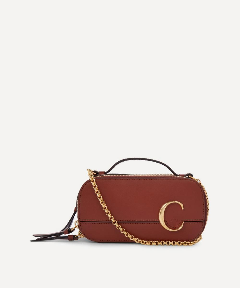 Chloé - Chloé C Mini Leather Vanity Bag