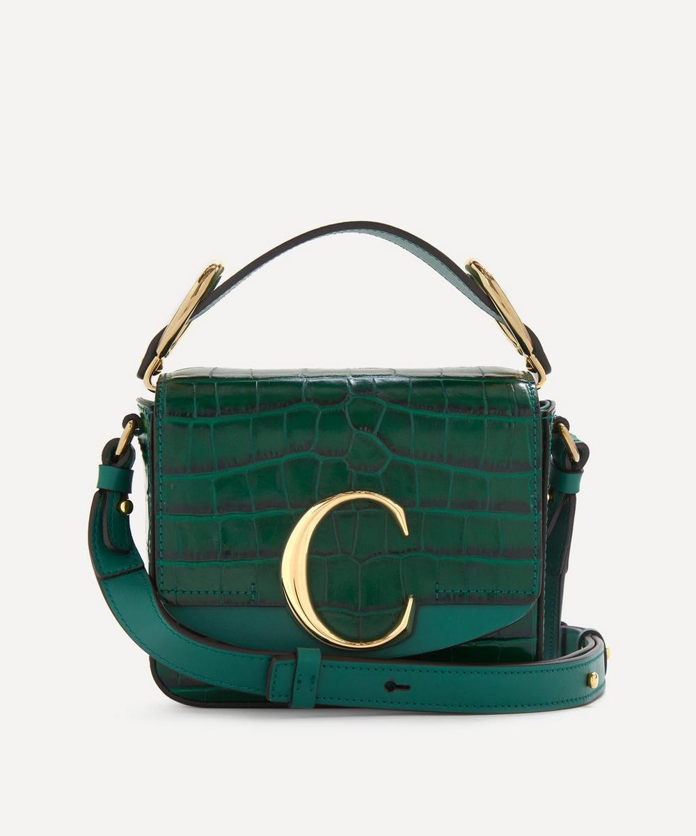 Chloé - Chloé C Mini Leather Handbag