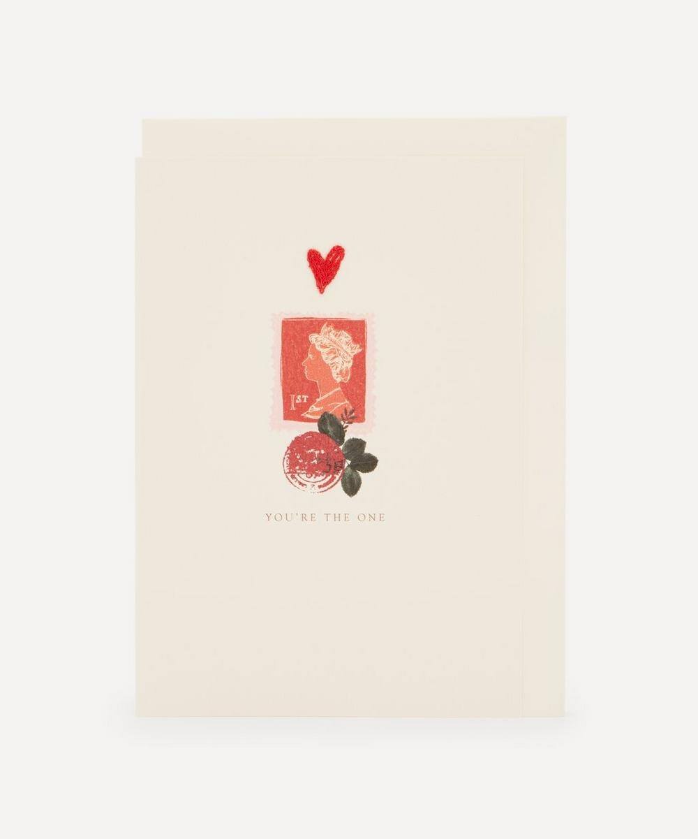 Unspecified - First Class Embroidered Valentine's Card