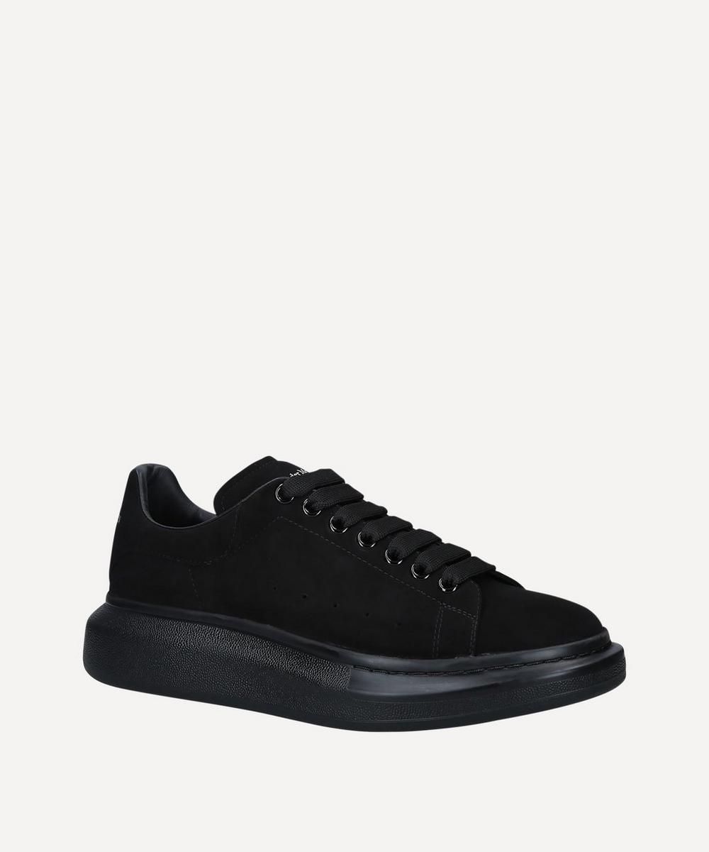 Alexander McQueen - Suede Tonal Show Sneakers