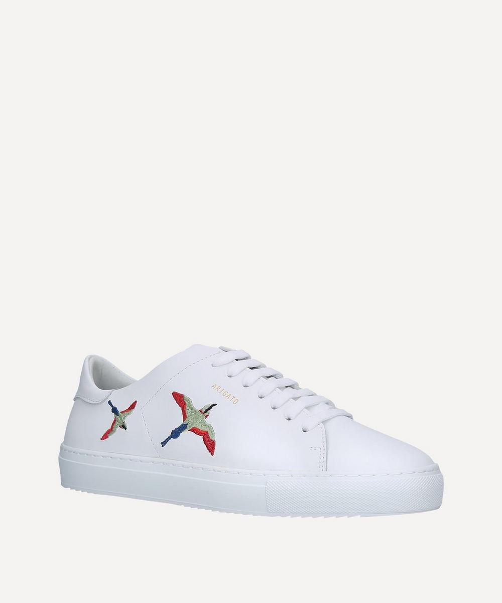 Axel Arigato - Clean 90 Bird-Embroidered Leather Sneakers