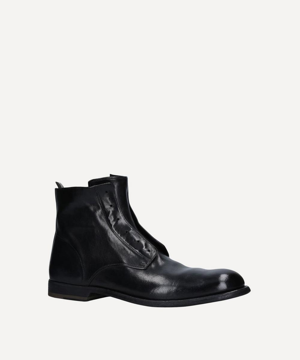 Officine Creative - Graphis Laceless Leather Boots