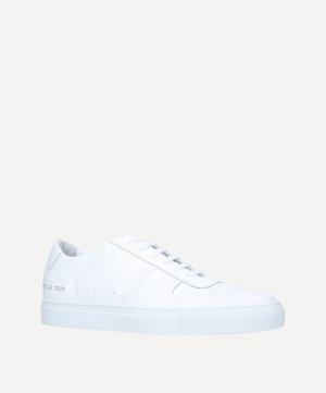 B Ball Leather Low-Top Sneakers