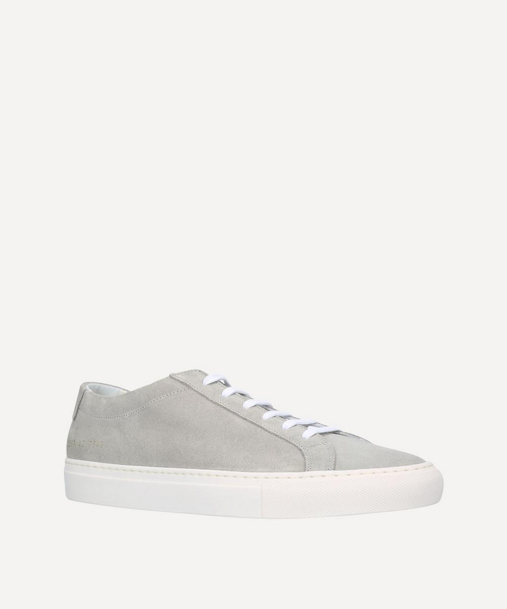 Common Projects - B Ball Leather Low-Top Sneakers