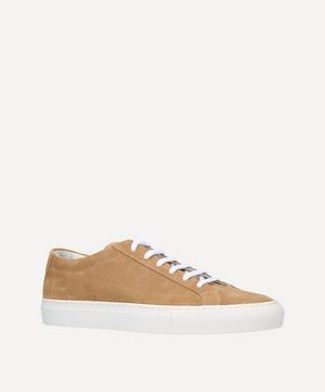 Original Achilles Contrast Sole Suede Sneakers