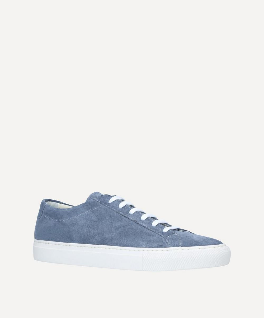 Common Projects - Original Achilles Contrast Sole Suede Sneakers