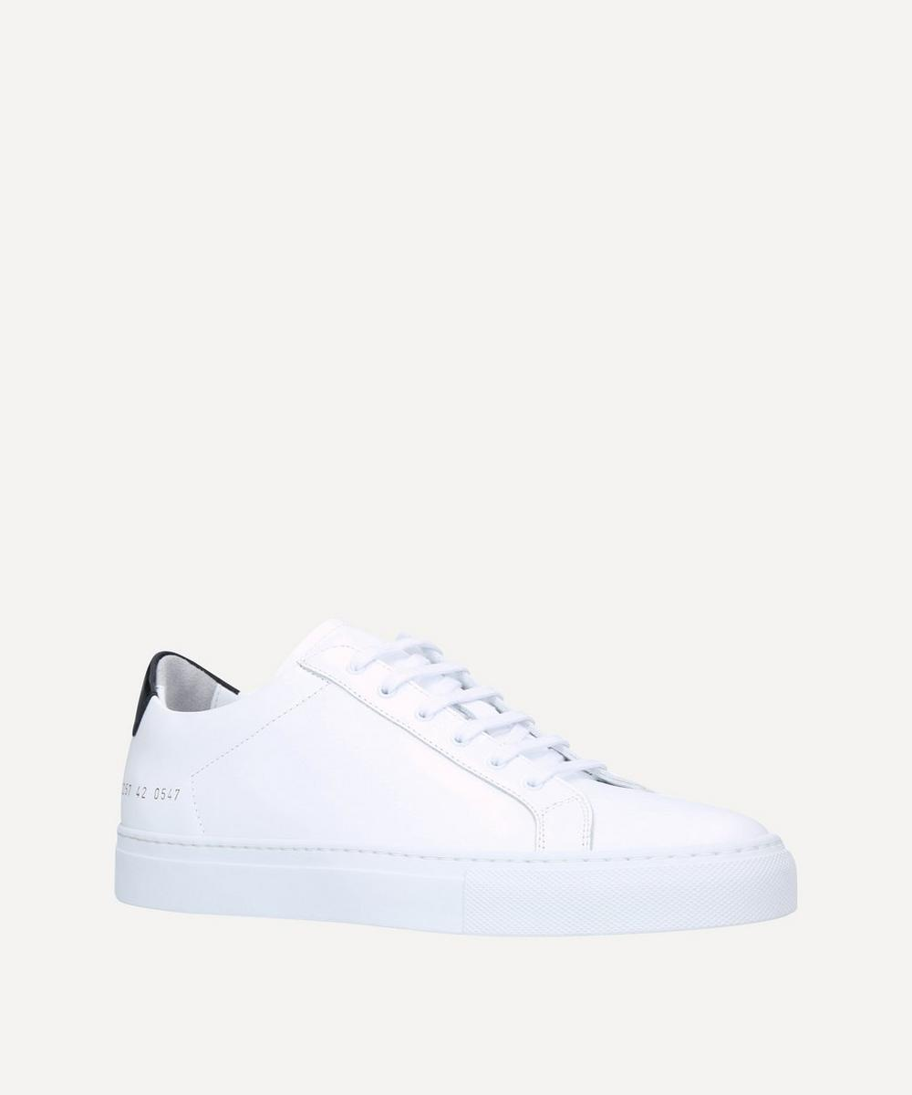 Common Projects - Retro Leather Low-Top Sneakers