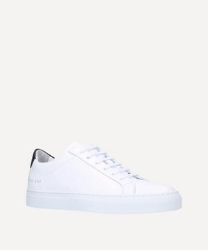 Retro Leather Low-Top Sneakers