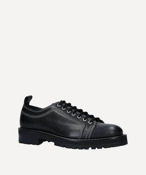 Worker Tractor Sole Derby Shoes