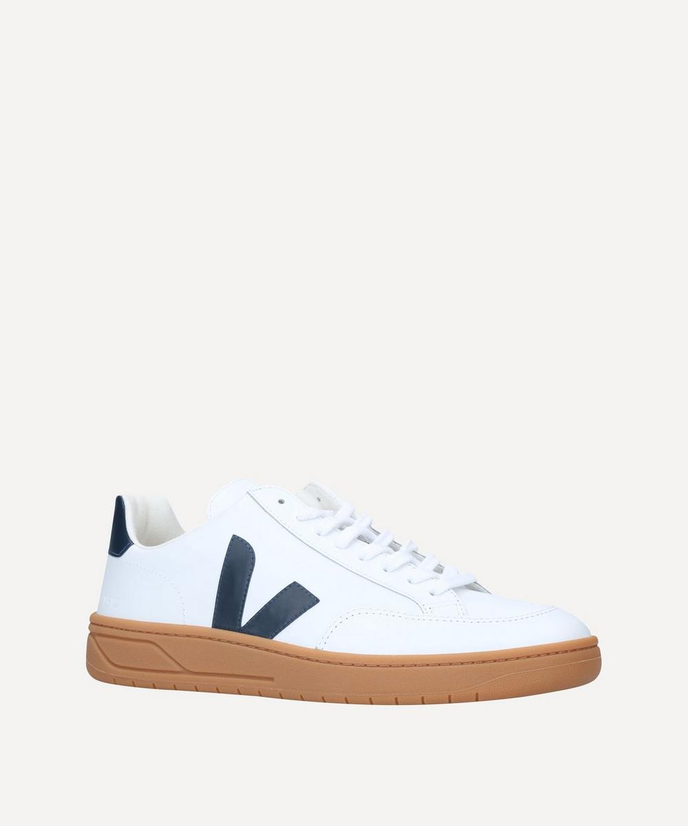 Veja - V-12 Leather Gum Sole Sneakers