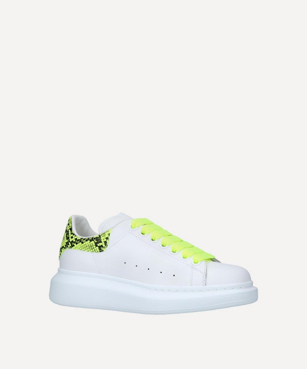 Alexander McQueen - Runway Python Sneakers